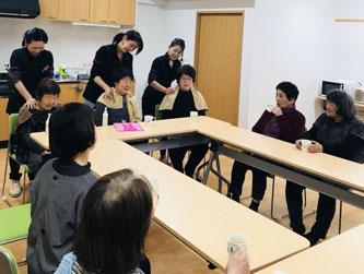 岩手県大槌町・山田町の仮設住宅・復興住宅を毎年訪問。