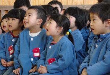 岩手県大槌町・山田町の子どもたち